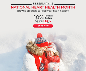 National Heart Health Month | Earn 10% RD