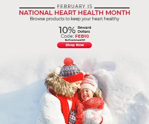National Heart Health Month | Earn 10% RD