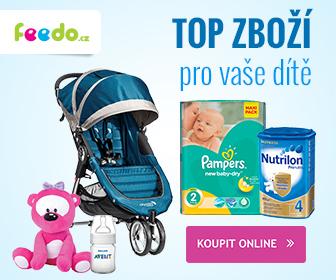 Feedo.cz: TOP ZBOŽÍ pro vaše dítě
