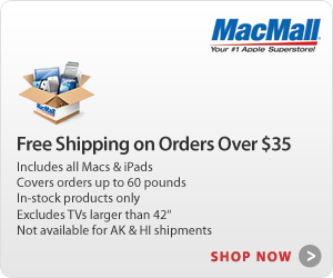 FREE Shipping on orders over $25 at MacMall.com
