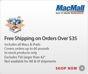 FREE Shipping at MacMall.com