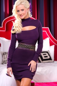 Holly Madison model for AMIclubwear