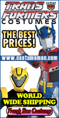 TRANSFORMERS COSTUMES AT FRANK BEE COSTUME