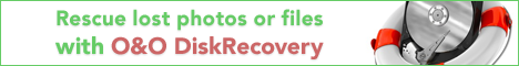 Rescue deleted files or photos - O&O DiskRecovery