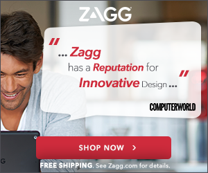 See the full suite of ZAGG mobile & tablet accessories at ZAGG.com