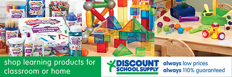 FREE Resources And Savings To Educate, Engage & Entertain Children At Home! Find FREE Educational Resources & Our Best Selling Products For Educating Children At Home From Discount School Supply!