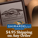 $4.95 Shipping on Any Order from Ghirardelli