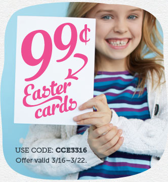 99¢ Easter Cards & In...