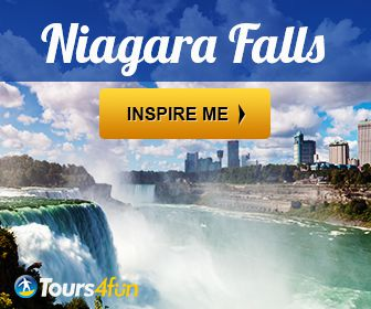 Stand in awe of Niagara Falls' majesty. Enjoy the waterfall mists up close.
