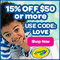 125x125 15% Off $50 with LOVE