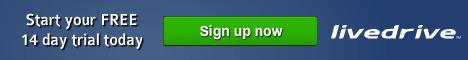 Livedrive Simple, Secure Online Backup