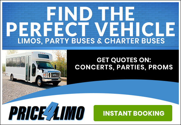 rent limo, party bus