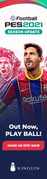 KINGUIN - ⚽ PES 2021 out NOW! Get the champion deal – 160×600