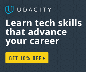 Be in demand. Get 10% off a Udacity Nanodegree Program.