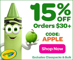 15% Off $30+ with APPLE