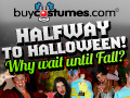 Halfway To Halloween at BuyCostumes.com!