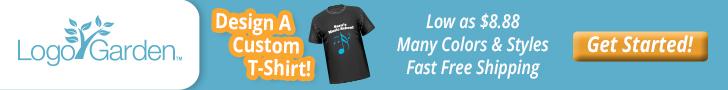 Logo Garden - Design a Custom T-Shirt!