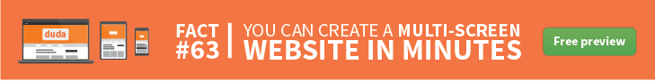 DudaPro Multiscreen Website
