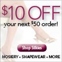 Save $10 at Silkies