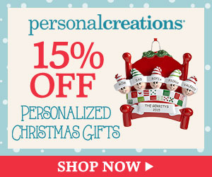Personal Creations Promo Code - 15% off Personalized Holiday Gifts from Personal Creations.