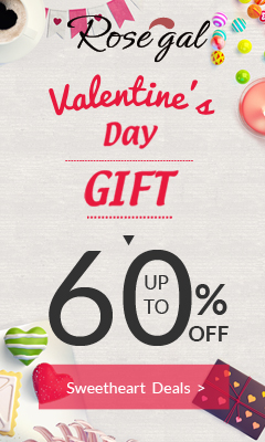 Valentine's day special: Up to 60% OFF + Free Shipping