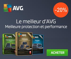 Promotion sur nouveau AVG Internet Security