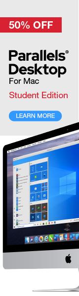 Parallels Desktop Student Edition 50% off