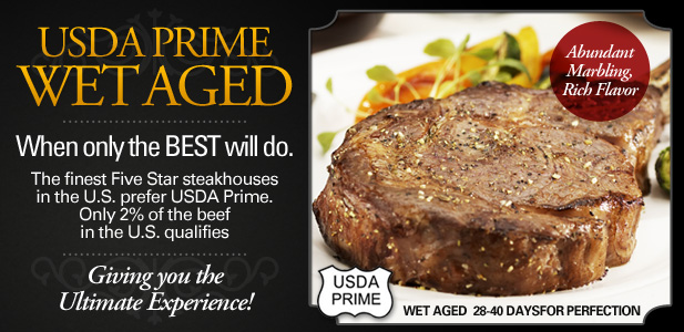 USDA Prime Wet Aged