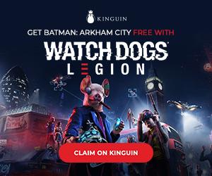 Kinguin - Get Watch Dogs Legion 6% cheaper – 300×250