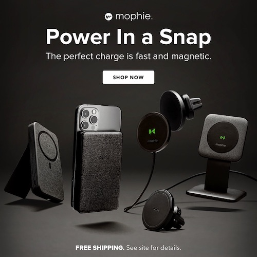 Get the Perfect Charge Wherever, Whenever - Introducing mophie Snap!