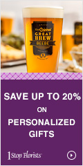 Save Up To 20% on Personalized Gifts