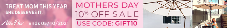 Mother's Day Sale! Sitewide 10% Off Plus United States Free Shipping! Code GIFT10. Ends 5/10/2021. S