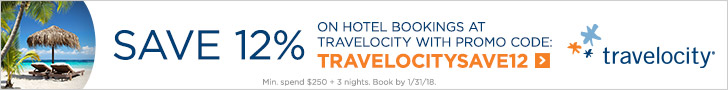 Banner for travelocity