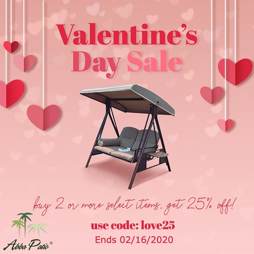 Valentine's Day Sale! Buy 2 or More Select Items Get 25% Off! Code: love25. Ends 02/16/2020.