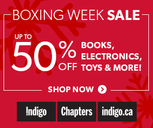 Boxing Week Sale - Up to 50% Off Books, Electronics, Toys & More!
