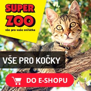 Vše pro kočky v Superzoo.cz