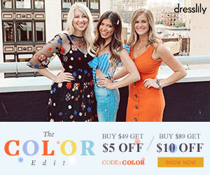 The COLOR Edit     BUY $49 GET $5 OFF  BUY $89 GET $10 OFF CODE:COLOR