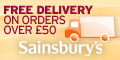 Sainsbury's + Free Delivery - 120x60