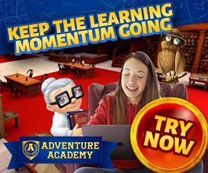 Get 1 Year of Adventure Academy for $45!