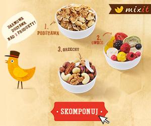 Darmowa dostawa nad 3 produkty: 1. podstawa, 2. owoce, 3. orzechy