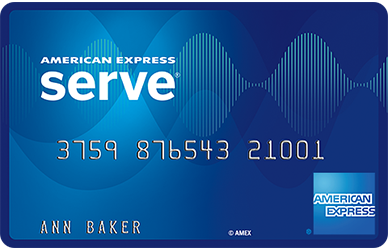 Serve Prepaid Card from American Express