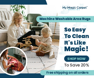 My Magic Carpet So Easy To Clean 20% Off 2 300x250