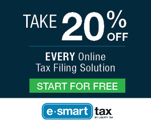 20% off Tax Solutions