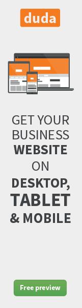 Desktop Tablet and Mobile | Duda's Responsive Website Builder