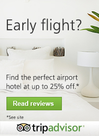 Early Flight? Find the perfect airport hotel at up to 25% off* at TripAdvisor!