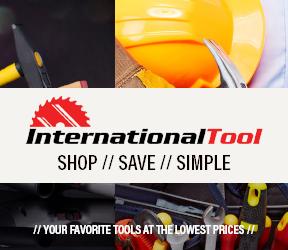 International Tool Banner