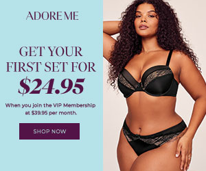 Adore Me: Get your first set for $24.95
