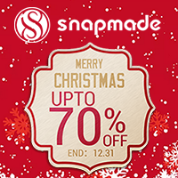 Snapmade 2015 Merry Christmas up to 70% Off Deals - 200*200