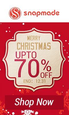 Snapmade 2015 Merry Christmas up to 70% Off Deals - 240*400