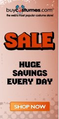 Huge Sale! at BuyCostumes.com
